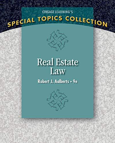9781285428765: Real Estate Law (Real Estate Law (Seidel, George))