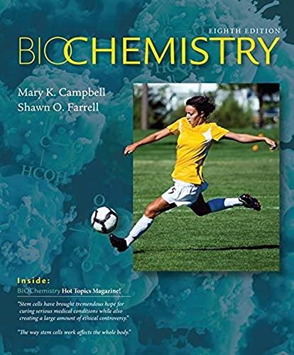 9781285429106: Biochemistry