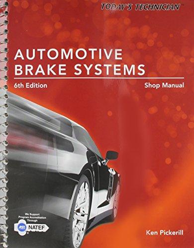 9781285429731: Today's Technician: Automotive Brake Systems, Shop Manual