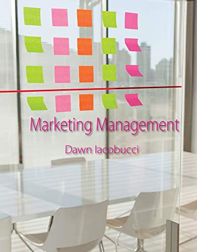 Marketing Management: Iacobucci, Dawn