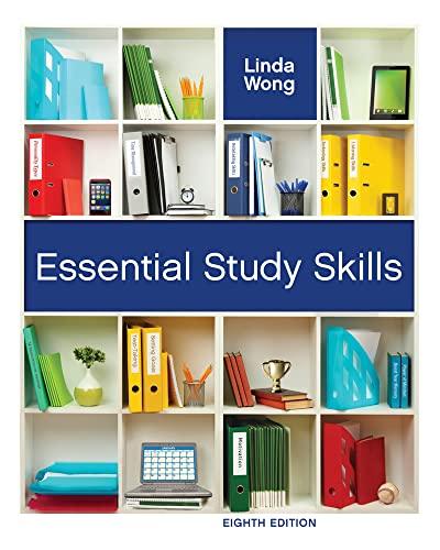 Essential Study Skills (Textbook-specific CSFI): Wong, Linda