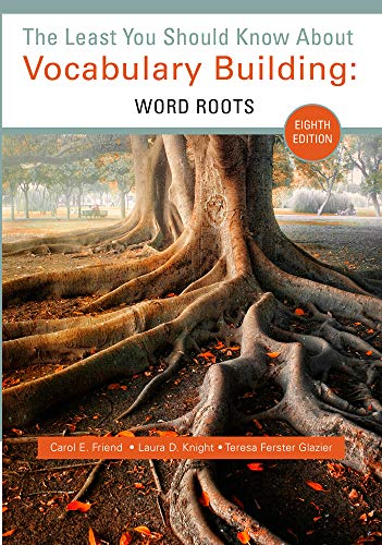 9781285430454: The Least You Should Know about Vocabulary Building: Word Roots