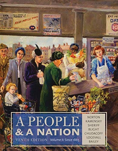 A People and a Nation, Volume II: Norton, Mary Beth;