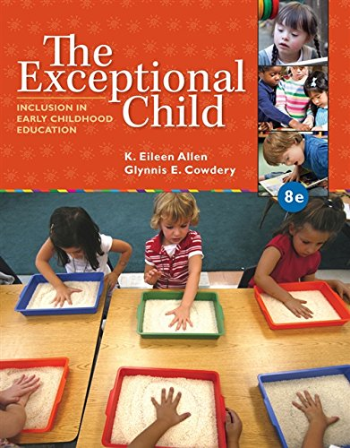 9781285432373: The Exceptional Child: Inclusion in Early Childhood Education