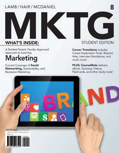 MKTG 8 (New, Engaging Titles from 4LTR: Charles W. Lamb,