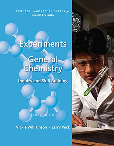 9781285433172: Experiments in General Chemistry: Inquiry and Skill Building