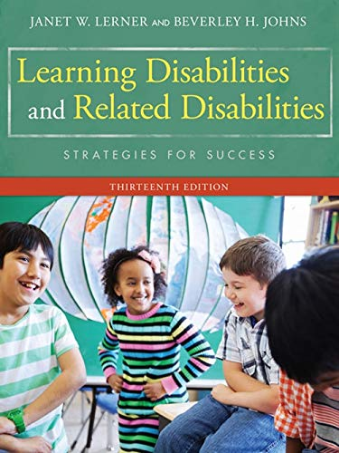 Learning Disabilities and Related Disabilities: Strategies for: Lerner, Janet W.;