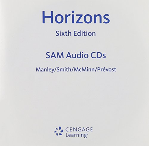 9781285433943: Student Activities Manual Audio CD-ROMs for Manley/Smith/Prevost/McMinn's Horizons, 6th