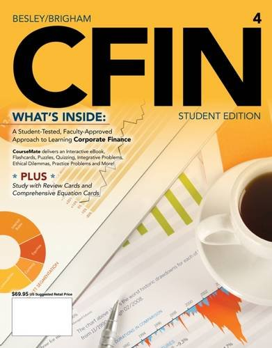 9781285434544: CFIN4 (with CourseMate Printed Access Card) (Finance Titles in the Brigham Family)