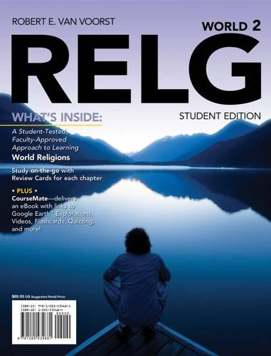 9781285434681: RELG: World (with CourseMate Printed Access Card) (New, Engaging Titles from 4LTR Press)