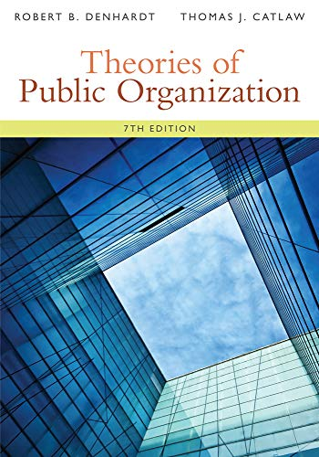 9781285436333: Theories of Public Organization