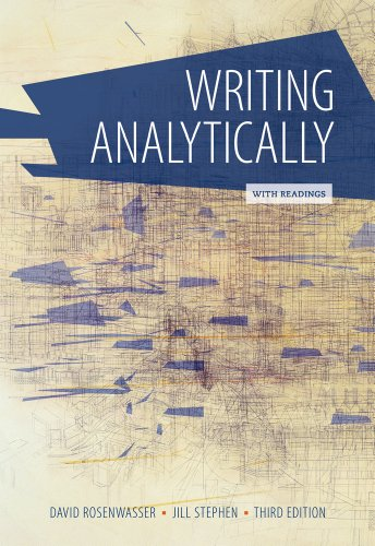 9781285436470: Writing Analytically with Readings