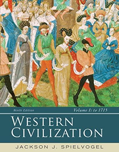 9781285436487: Western Civilization: Volume I: To 1715
