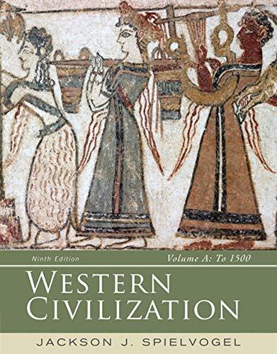 9781285436586: Western Civilization: Volume A: To 1500