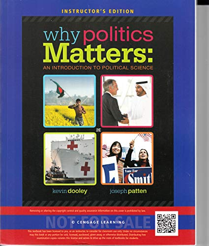 9781285437651: Why Politics Matters: An Introduction to Political Science (INSTRUCTOR'S EDITION)