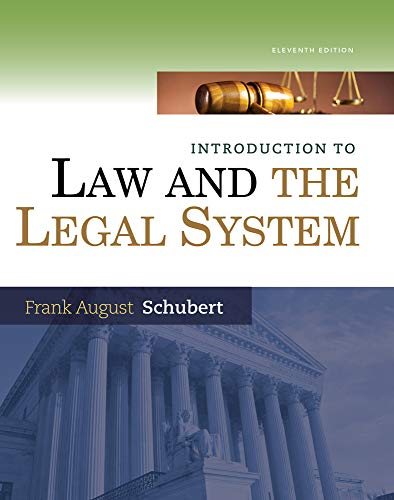9781285438252: Introduction to Law and the Legal System