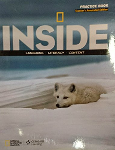 9781285438993: Inside Language, Literacy, Content Practice Book Level A Annotated Teacher's Edition