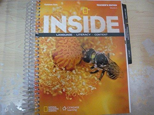 9781285439464: Inside Language, Literacy, Content Common Core Fundamentals Volume 1 Teacher's Edition