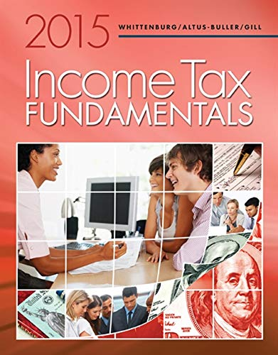 9781285439525: Income Tax Fundamentals 2015 (with H&R Block Premium & Business Software CD-ROM)