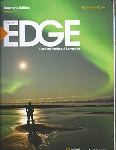 9781285439617: Edge Reading, Writing & Language: Level A Common Core, Vol. 1, Teacher Edition