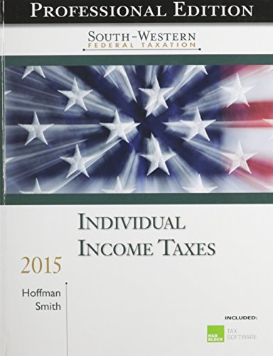 Individual Income Taxes [With CDROM]