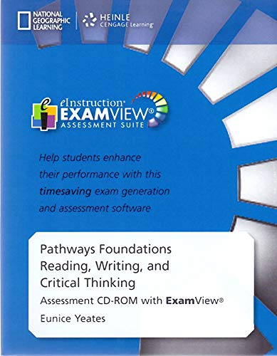9781285442181: Pathways Foundations Reading, Writing, and Critical Thinking Assement CD-ROM with Exam View