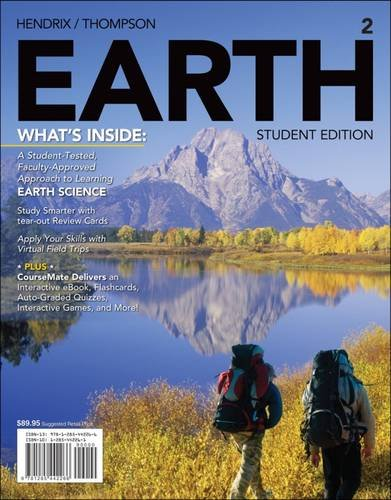 EARTH2 (with CourseMate, 1 term (6 months): Hendrix, Mark; Thompson,