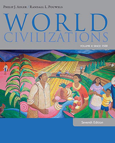 9781285442822: 2: World Civilizations: Volume II: Since 1500