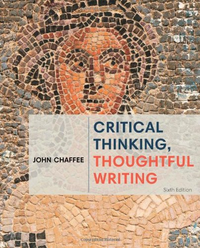 9781285443034: Critical Thinking, Thoughtful Writing
