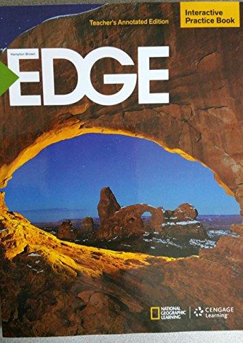 9781285443492: Hampton-Brown EDGE Interactive Practice Book Level C Teacher's Annotated Edition