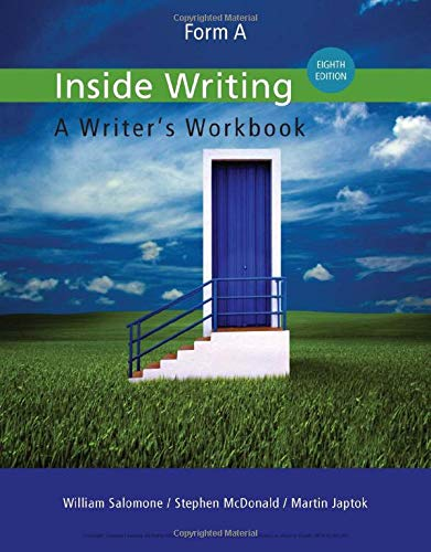 9781285443546: Inside Writing: Form A