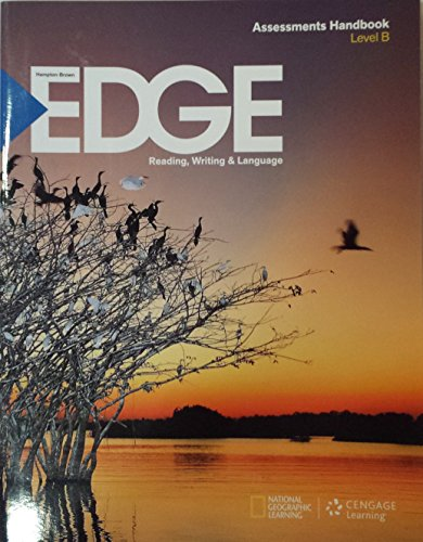 9781285443775: EDGE Level B Assessment HandBook