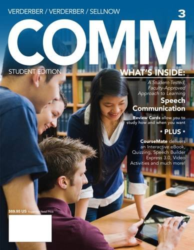 9781285445588: COMM3 (with CourseMate, 1 term (6 months) Printed Access Card) (New, Engaging Titles from 4LTR Press)