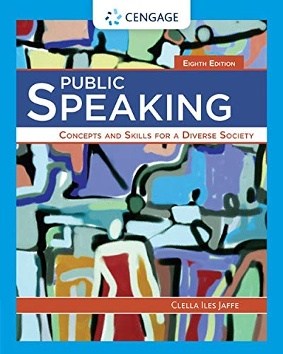 9781285445854: Public Speaking: Concepts and Skills for a Diverse Society