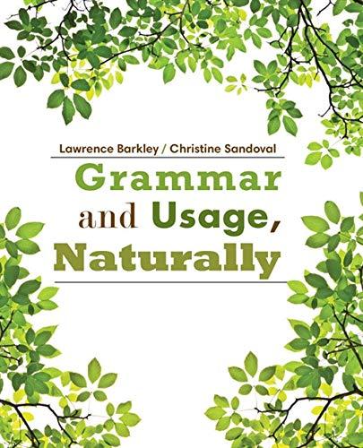 9781285445861: Grammar and Usage, Naturally