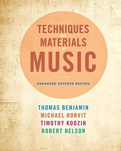 9781285446172: Techniques and Materials of Music: From the Common Practice Period Through the Twentieth Century, Enhanced Edition (with Premium Website Printed Access Card)