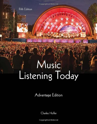9781285446189: Music Listening Today, Cengage Advantage Edition (with Digital Music Download Printed Access Card and 2-CD set)
