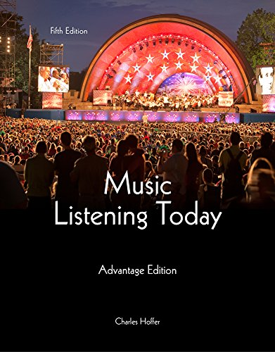 Music Listening Today: Advantage Edition: Hoffer, Charles