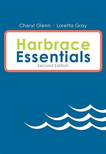 Harbrace Essentials, Spiral bound Version: Glenn, Cheryl; Gray,