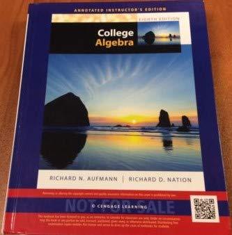 9781285447049: AIE College Algebra 8th.ed.