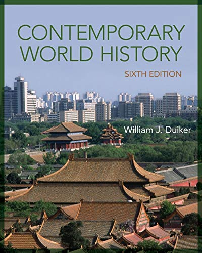 Contemporary World History: Duiker, William J.