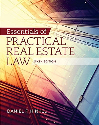 9781285448381: Essentials of Practical Real Estate Law