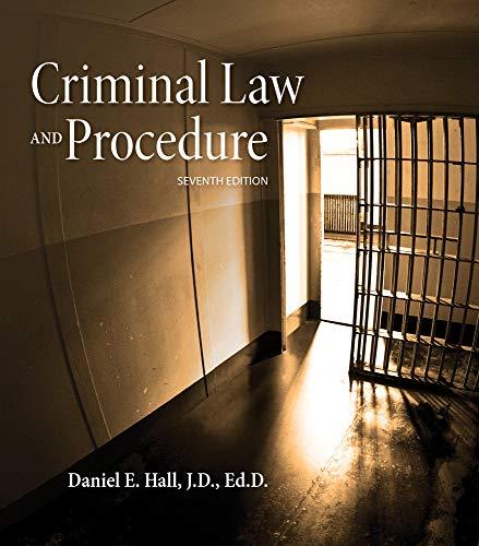 9781285448817: Criminal Law and Procedure