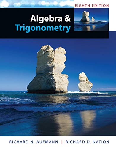 9781285449425: Algebra and Trigonometry