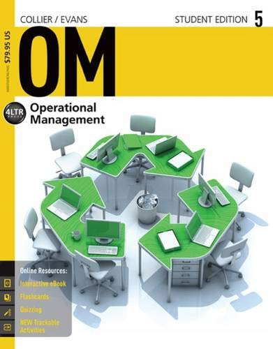 9781285451374: OM5 : Operations Management (New, Engaging Titles from 4ltr Press)
