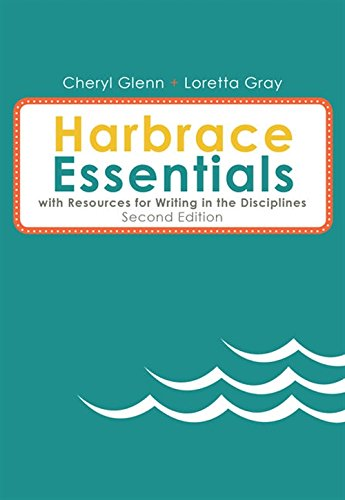 9781285451817: Harbrace Essentials with Resources Writing in Disciplines