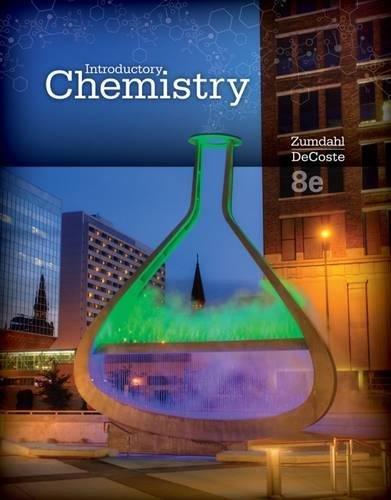 Introductory Chemistry: Zumdahl, Steven S.; DeCoste, Donald J.