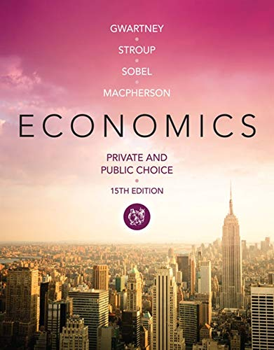 Economics: Private and Public Choice: James D. Gwartney