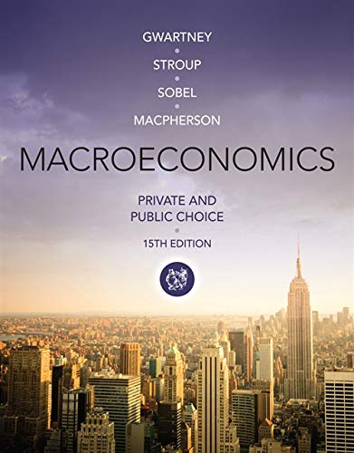 Macroeconomics: Private and Public Choice (Paperback): Richard Stroup, Russell S. Sobel, David ...