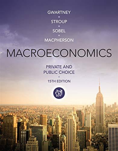 Macroeconomics: Private and Public Choice